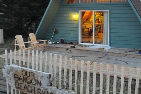 Bandon Beach Shack fully remodeled - Casa