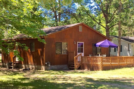 Higgins Lake Cabin convenient ! ⛱. - Hus