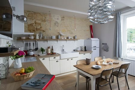 Apartment 4 people- Landing Beaches - Port-en-Bessin-Huppain - Apartment