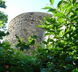 An Artist's Castle Tower in Umbria