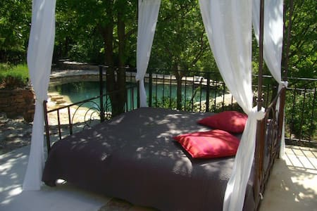 Paradis en Provence avec Piscine - Montmeyan - Apartment