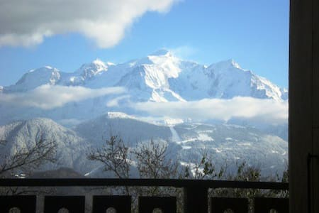 GITE face au Mont-Blanc - Alpstuga