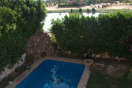 Charming 5BR villa with privatepool - Sheikh Zayed