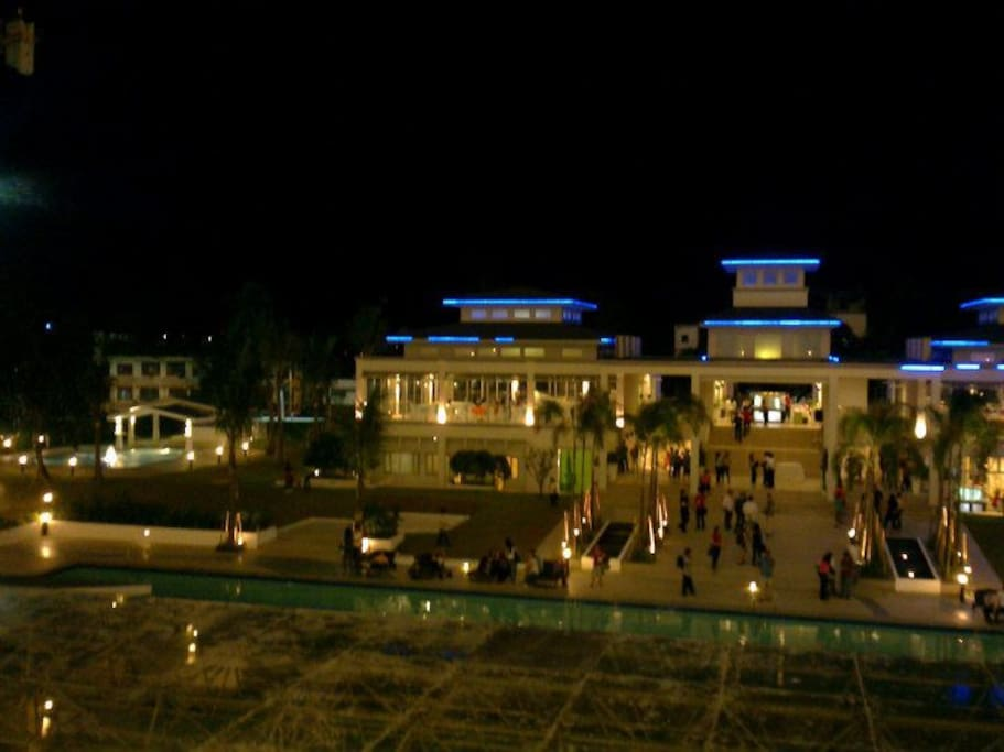 The view of Club house and Olympic Swimming pool