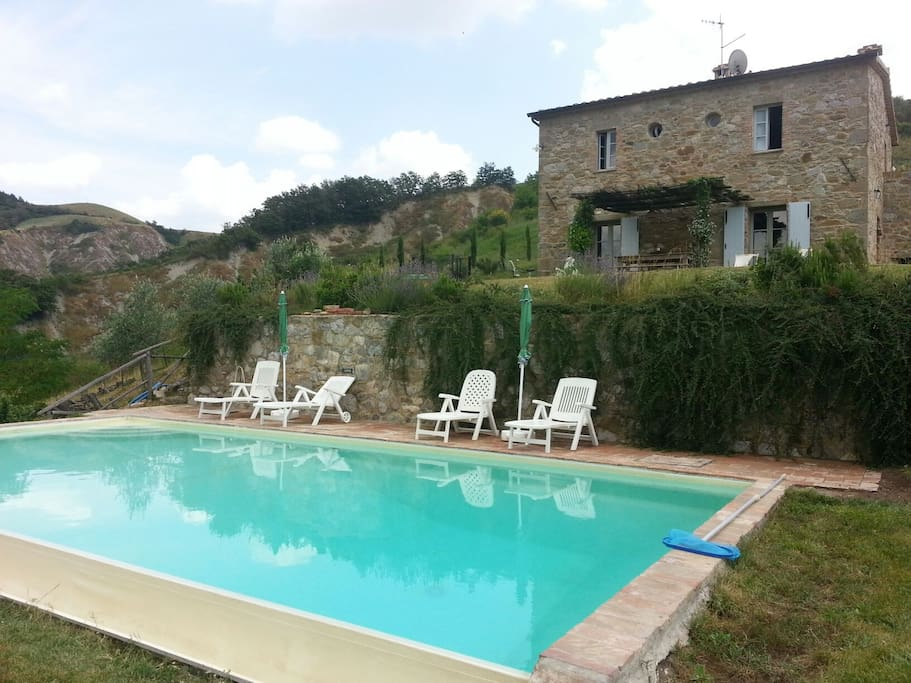 Farmhouse with private pool