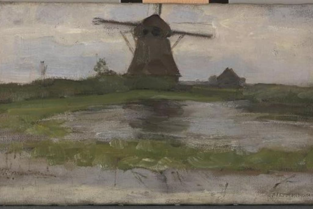 Mondriaan' s painting of this mill, visit Rijksmuseum and see 4 yourself