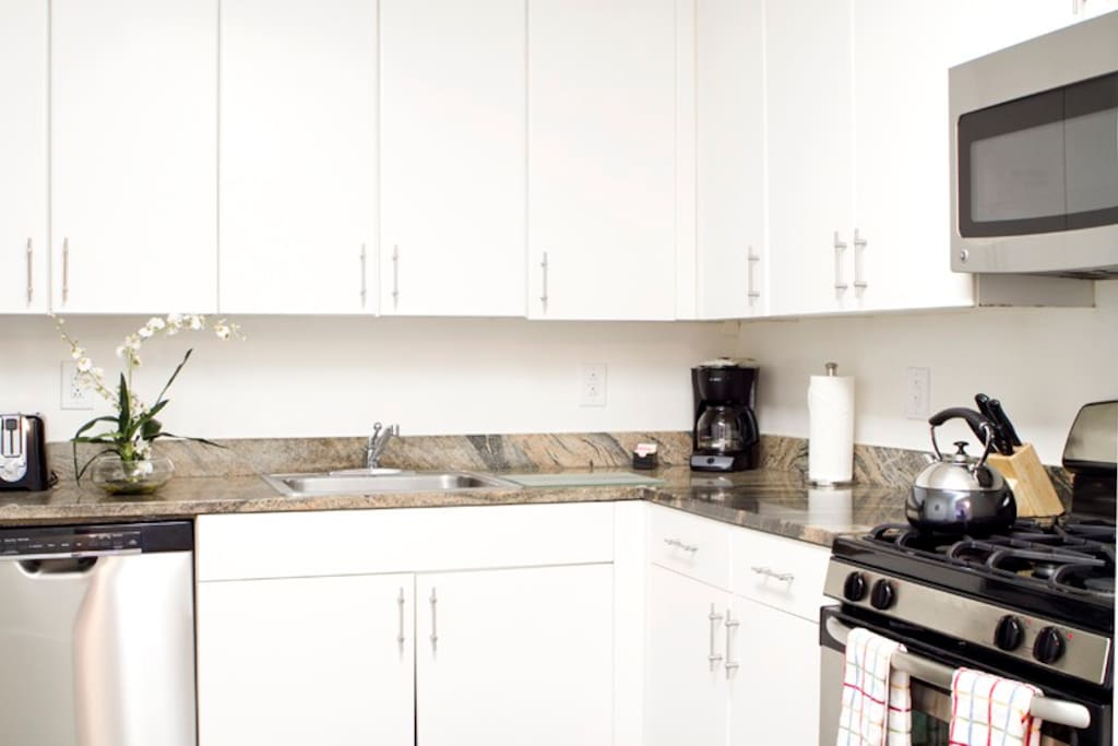 Fully-Equipped Kitchen with everything you need