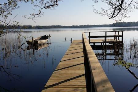 Charming 6 pers. house at Sorø lake - Cabin