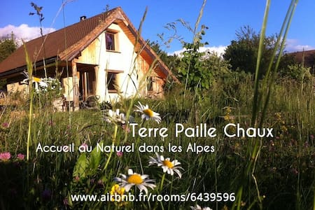 Terre Paille Chaux, Bio-Eco-Logis in French Alps - Earth House