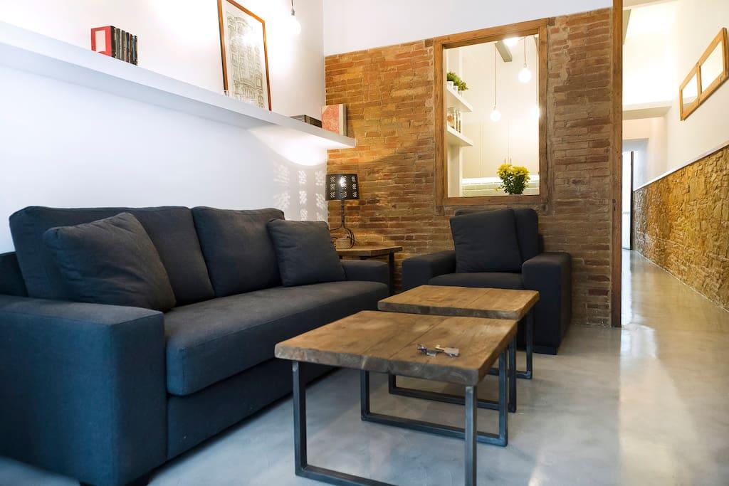 Apartamento único en Poble Sec!
