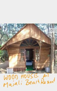 WOOD HOUSE  AT MAJALI BEACH RESORTS - Karwar  - Cabin