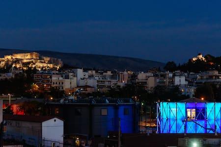 Stunning View of Athens! Cozy Loft! - Atenas