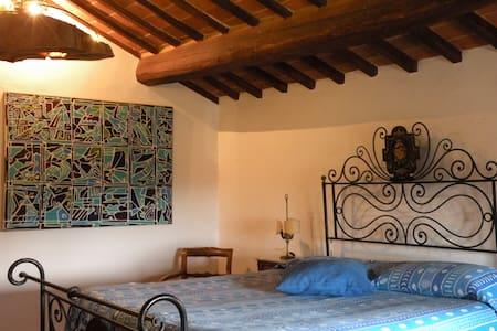 Romantic room&kitchen in Cortona - Hus