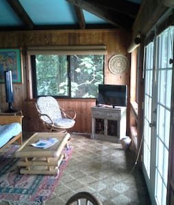 Luana Ola Green Cottage, Ocean View - Honokaa - Haus
