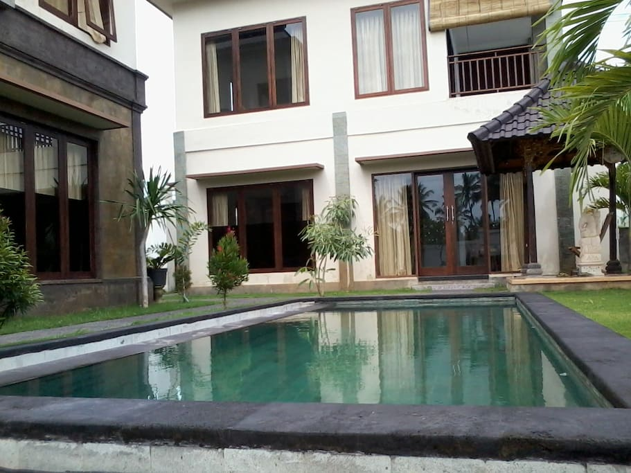 View of unit from pool side.
