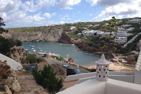 Pretty chalet with seaviews in Cala Morell,Menorca - Ciutadella de Menorca