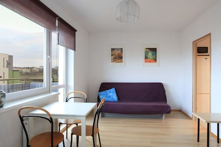 One room apartment for 4 persons, free park place - Gdańsk - Wohnung