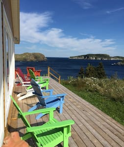 Whale Watcher House -  3 bedrooms, 3.5 bathrooms - Tors Cove