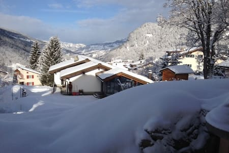 WEF acc. within Chalet in Klosters - Apartamento