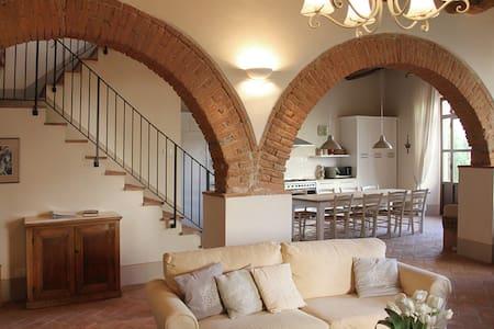 Luxury Apt in Restored Tuscan Villa - Lägenhet