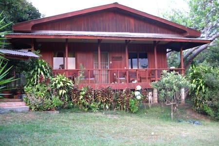 2BD Wood House on Organic Farm,View