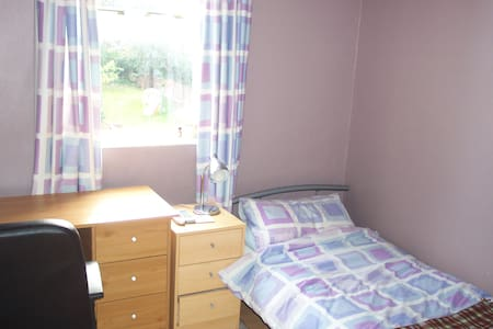 Clean single bedroom in family home - Oxford - House