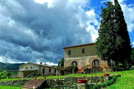 Tuscany Farmhouse - Libbiano - Apartment