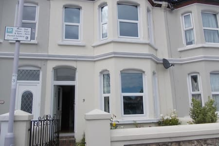 Victorian house opposite station. - Worthing