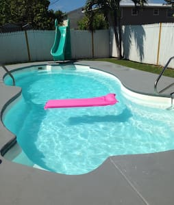 Private poolside studio