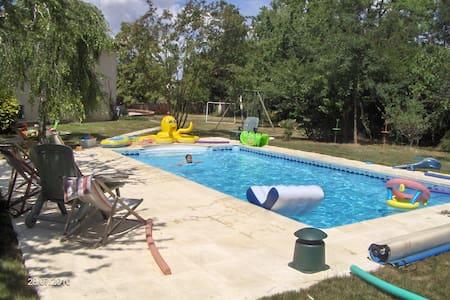 Belle villa avec piscine sud-ouest - Cunac