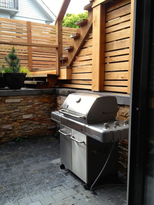 Your own Weber natural gas BBQ