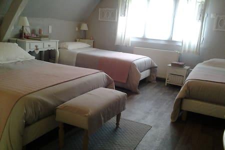 """Les Chambres du Confiturier """" La Forêt"""" - Lalandelle - Bed & Breakfast"""