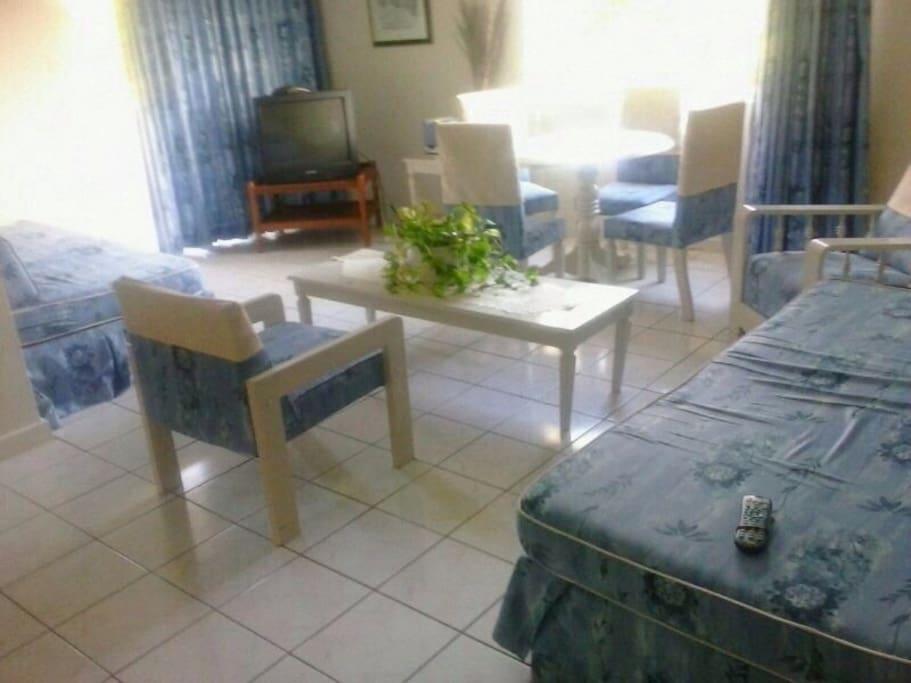 Beautiful apartment in beach resort
