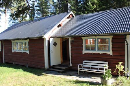 Timmerhus med 3 rum, pentry, altan - Sundsvall S