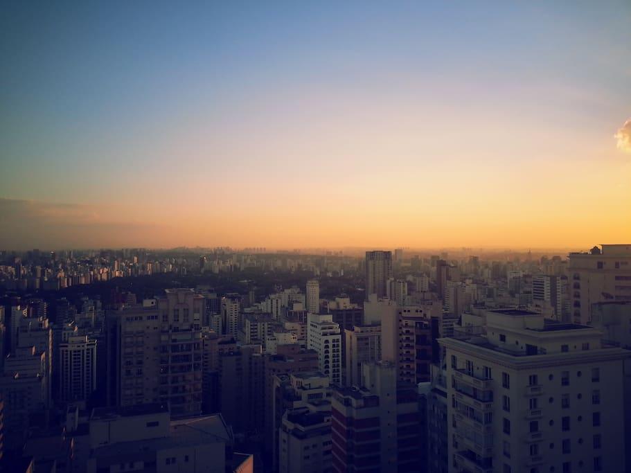 São Paulo skyline
