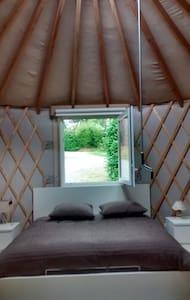 Chambre atypique dans une yourte proche Landerneau - La Roche-Maurice