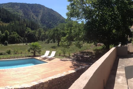 Gorges du Tarn, heated swimmingpool - Ev