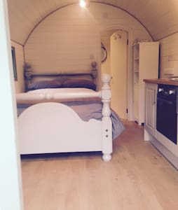 Luxury,Pod Dbl bed,ensuite& kitchen - Ilkley - Cabin