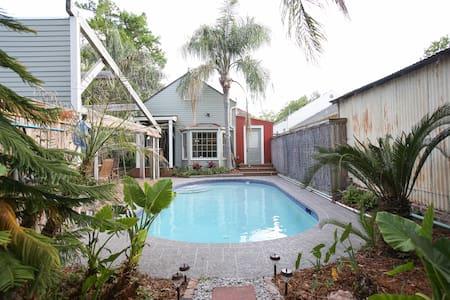Pool Cottage in Bayou St. John