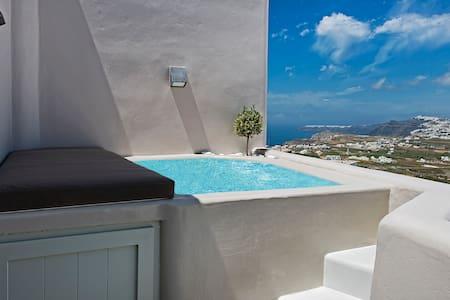 Pyrgos Terrace House - Rumah