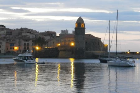 Large Double Room at Chez Collioure