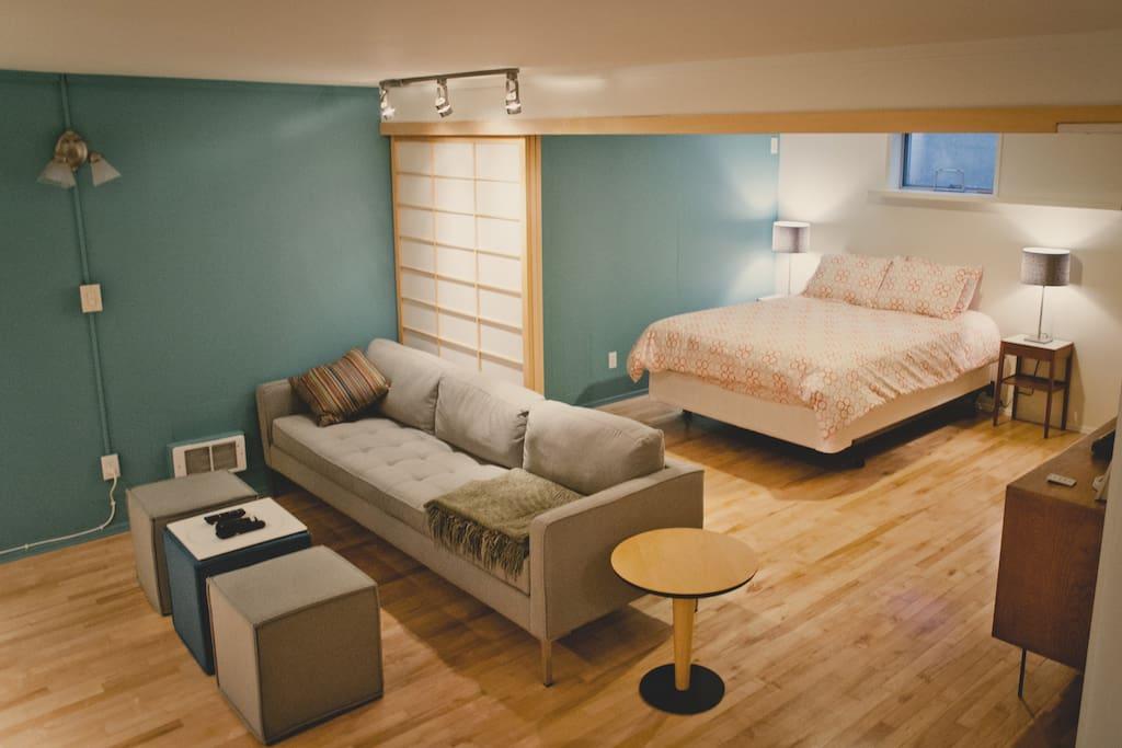 Mid-century Modern Apartment