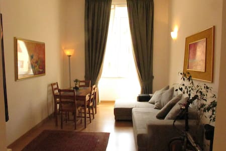An Affordable Flat in Central Rome