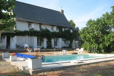 Big house near Loire Valley - Belligné - Huis