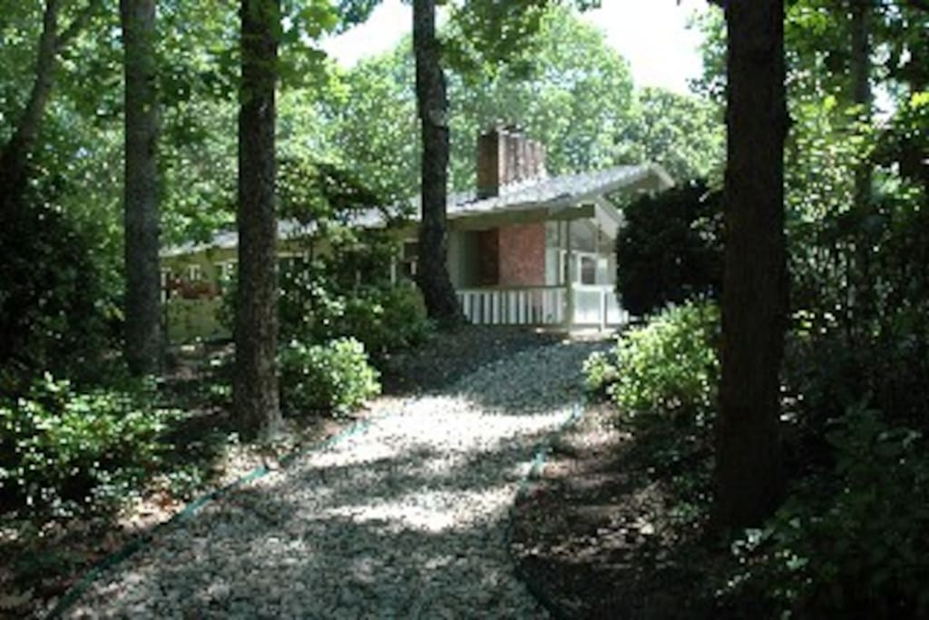 Path from driveway