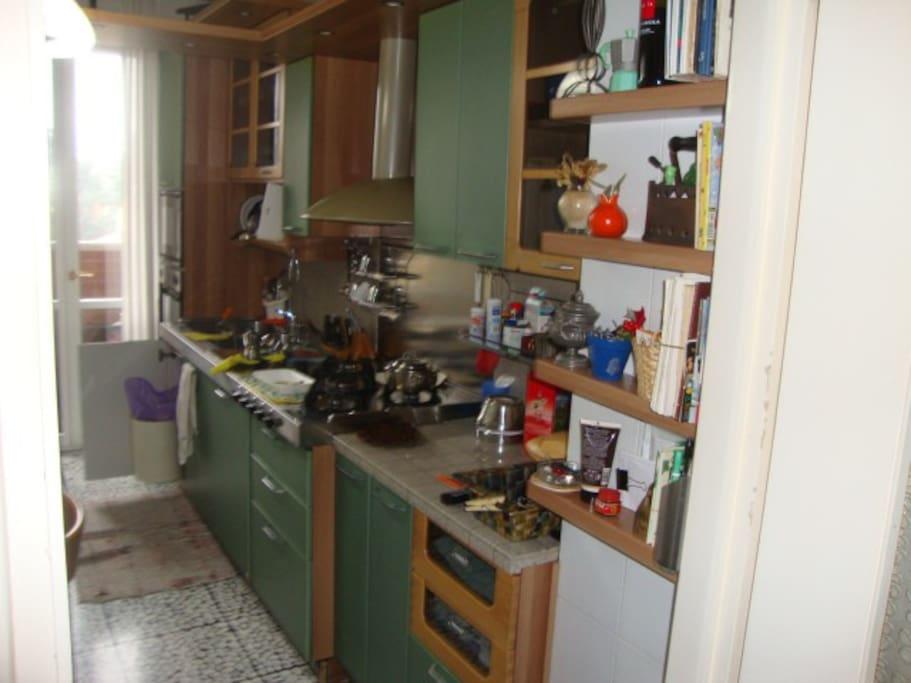 Cucina della casa