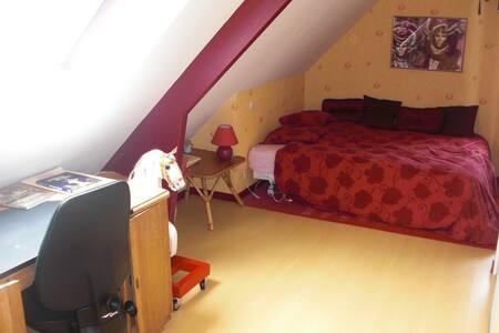 2 chambres à louer à Bénouville - Bed & Breakfast