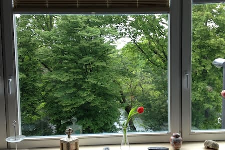 Charming room with great Parkview  - Bremen - Talo