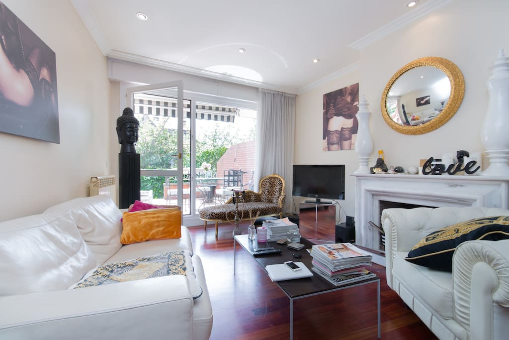 Precioso apartamento con jardin en