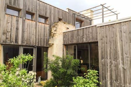 ECO-WOOD HOUSE - Mirebeau - Earth House